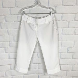 Adidas Clima Cool White Outdoor Capri Pants 4